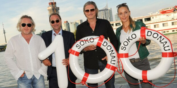Soko Donau feierte 100. Folge