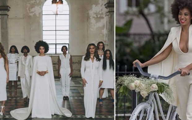 Solange Knowles' coole Hochzeitslooks