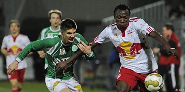 Mattersburg mit 1:6-Debakel gegen Salzburg