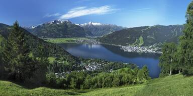 Zell am See-Kaprun - ADV - Sommer-Panorama Zell am See