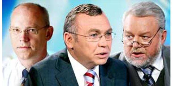 Matte Quote für Kanzler Gusenbauer