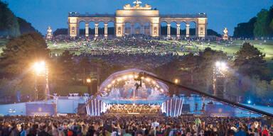 Musik-Spektakel in Schönbrunn