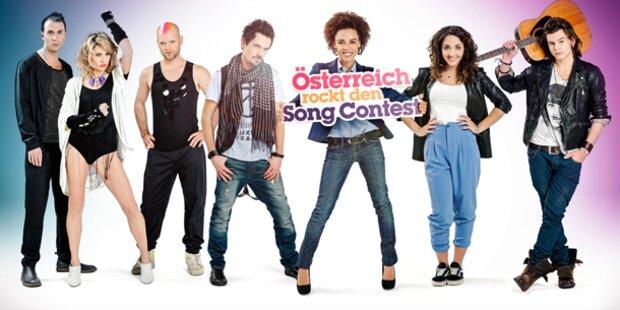 ORF präsentiert Kandidaten samt Songs