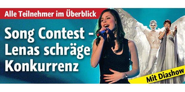 Song Contest - Lenas schräge Konkurrenz