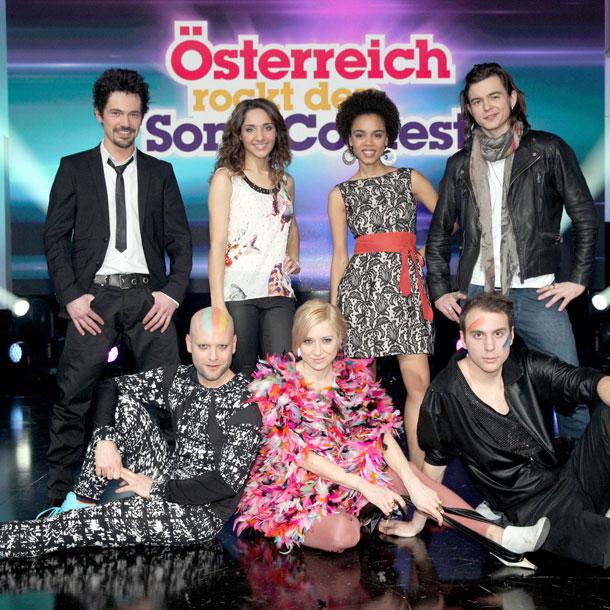 """""""Österreich rockt den Song Contest"""" am 15. Februar"""