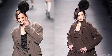 Sonia Rykiel setzt auf maskuline Oversize-Anzüge