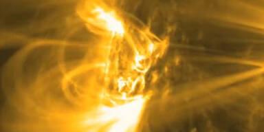 Imposant: Aufnahmen von Sonnen-Flares