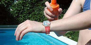 Sonnenschutz kann man aufbewahren