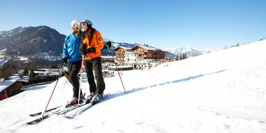 Sonnhof- Skifahrer