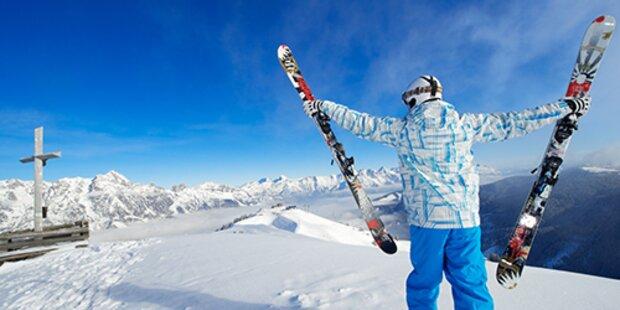 Skiorte im Visier