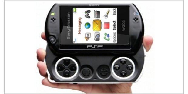Sony plant ein Spiele-Handy
