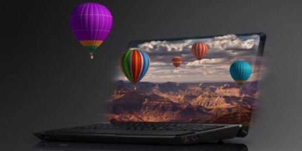 Sony bringt neues VAIO 3D-Notebook