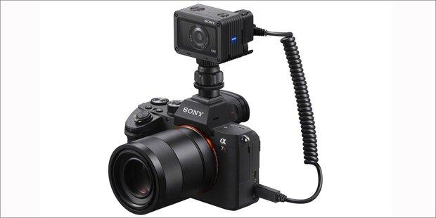 Sony verbindet Digicams mit Actionkamera