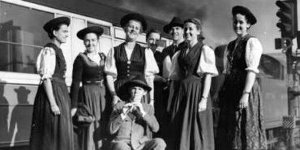 Familie Trapp kehrt nach Salzburg zurück