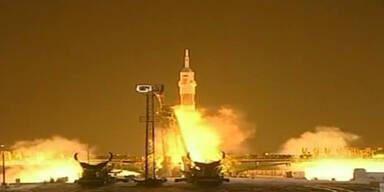 Sojus-Rakete startet in Kasachstan zur ISS