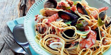 Spaghetti-Meeresfruechte