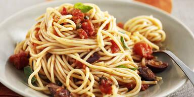Darum kann man an Spaghetti sterben
