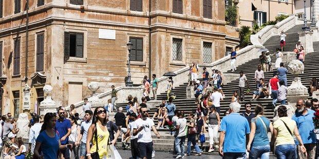 Rom: Aus für Picknick auf der Spanischen Treppe?