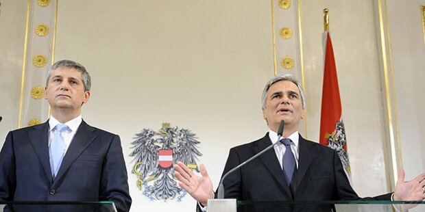 Koalition will 2016 wieder Null-Defizit