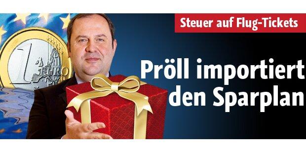 Pröll importiert deutschen Sparplan