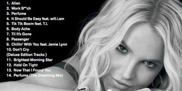 Spears verrät Trackliste und singt mit Schwester