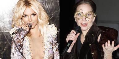 Britney Spears und Lady Gaga
