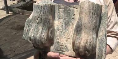 Archäologen finden Sphinx in Israel