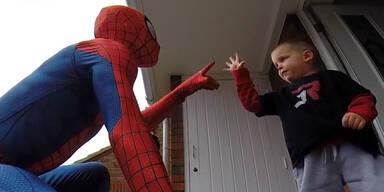 Spiderman Vater