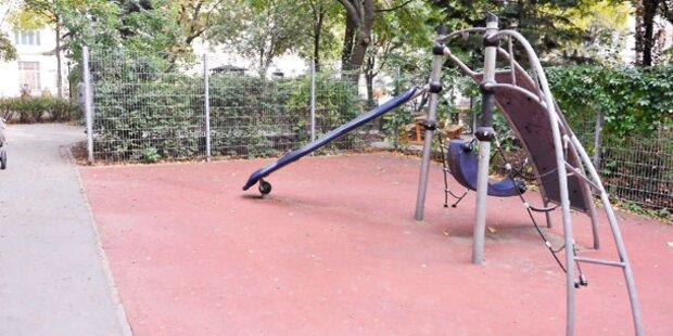 Schüsse auf Kinderspielplatz