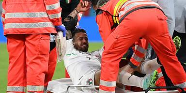Horror-Verletzung bei Italien-Star Spinazzola