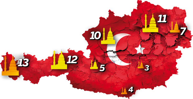 Spitzel-Moscheen Erdogan