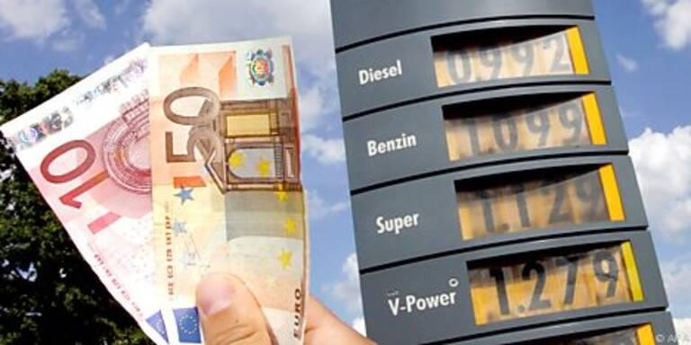 Spritpreise trieben die Energiekosten in die Höhe