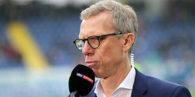 Austria-Sportchef Peter Stöger zweifelt am Sinken der Transfersummen