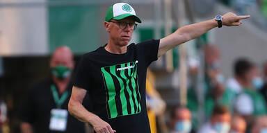 Stöger fixiert mit Ferencváros den Aufstieg