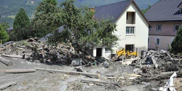 Wieder Unwetter im steirischen St. Lorenzen