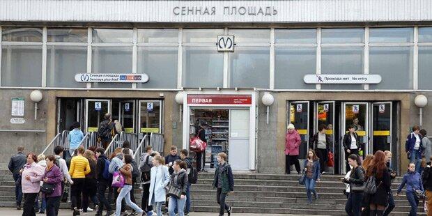 Explosionen in Metro in St. Petersburg