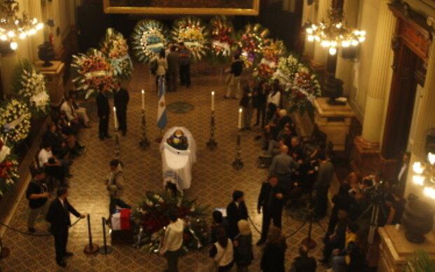 Südamerika nimmt Abschied von Mercedes Sosa