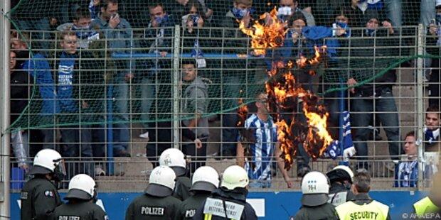 Ausschreitungen nach Bochums Bundesliga-Abstieg
