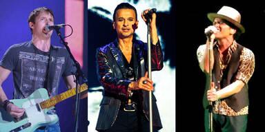 Wiener Stadthalle: Blunt, Depeche Mode, Mars