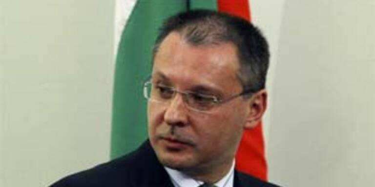 Gelobt Besserung: Bulgariens Premier Sergej Stanischew