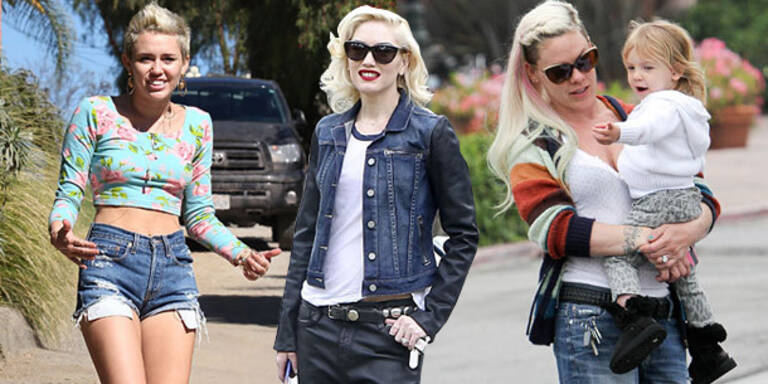 Hollywood-Stars: casual & chic