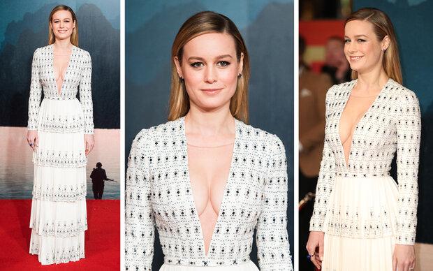 Brie Larson lässt bei Filmpremiere tief blicken