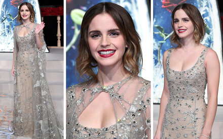 Emma Watsons märchenhafter Auftritt