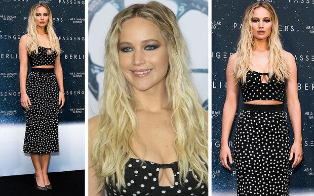 Jennifer Lawrence überzeugt im sexy Zweiteiler