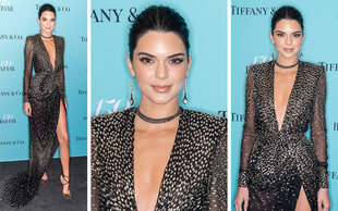Sexy Auftritt: Kendall Jenner funkelt im Big Apple