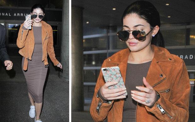 So stylish ist Kylie Jenner auf Reisen
