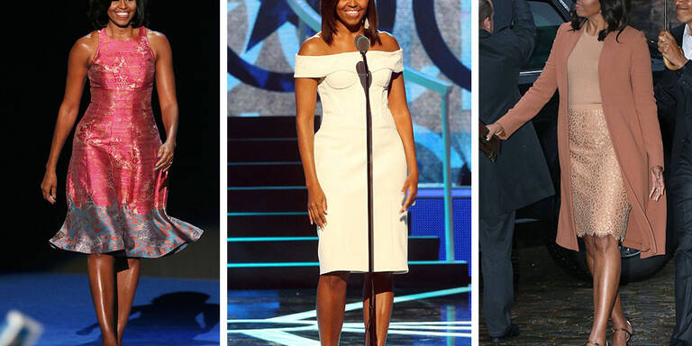 Die schönsten Looks von Michelle Obama