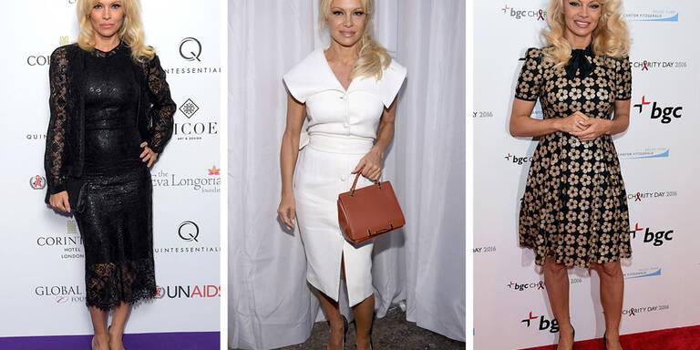 Pamela Andersons neuer Biederlook