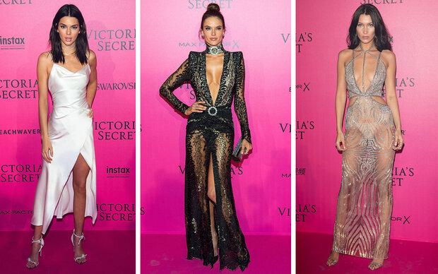 Das trugen die Models am Pink Carpet