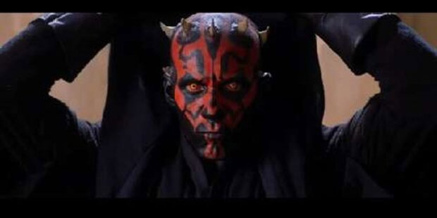 Star Wars mit dunkler Bedrohung